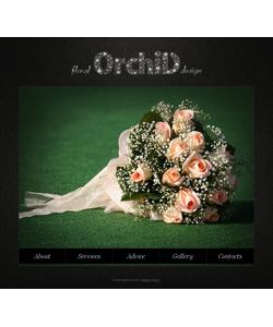 Moto CMS HTML šablona na téma Květiny č. 41318