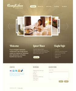 Moto CMS HTML šablona na téma Hotely č. 41455