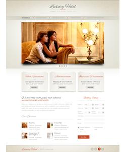 Moto CMS HTML šablona na téma Hotely č. 41617