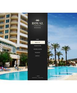 Moto CMS HTML šablona na téma Hotely č. 42102