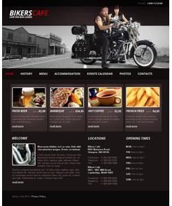 Moto CMS HTML šablona na téma Café a restaurace č. 42167