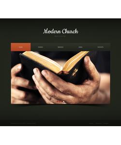 Moto CMS HTML šablona na téma Náboženství č. 43030