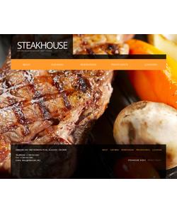 Moto CMS HTML šablona na téma Café a restaurace č. 43129
