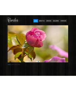 Moto CMS HTML šablona na téma Květiny č. 43508