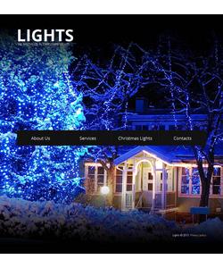 Moto CMS HTML šablona na téma Vánoce č. 43512