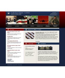 Moto CMS HTML šablona na téma Vojenské č. 43523