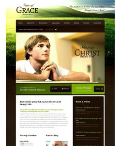 Moto CMS HTML šablona na téma Náboženství č. 43924