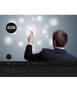 Moto CMS HTML šablona na téma Komunikace č. 43933