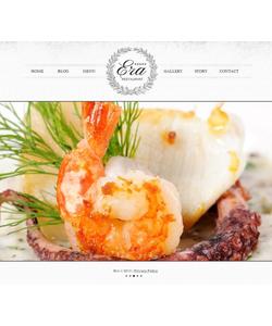 Moto CMS HTML šablona na téma Café a restaurace č. 44466