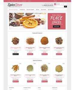 OpenCart e-shop šablona na téma Jídlo a pití č. 49084