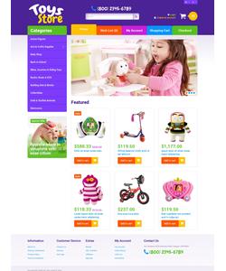 OpenCart e-shop šablona na téma Zábava č. 49308