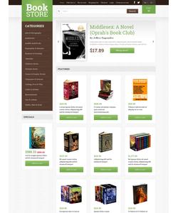 OpenCart e-shop šablona na téma Knihy č. 49309