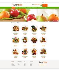 OpenCart e-shop šablona na téma Jídlo a pití č. 49580