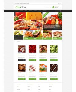 OpenCart e-shop šablona na téma Jídlo a pití č. 49581