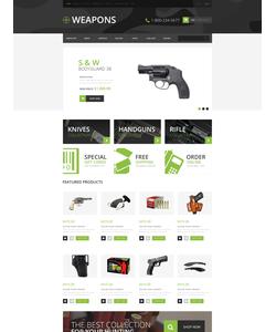 OpenCart e-shop šablona na téma Vojenské č. 50481