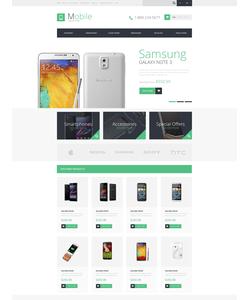 OpenCart e-shop šablona na téma Elektronika č. 50677