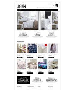 OpenCart e-shop šablona na téma Interiér a nábytek č. 50758
