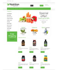 OpenCart e-shop šablona na téma Lékařské č. 50870