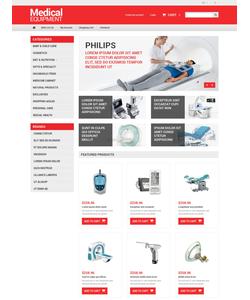 OpenCart e-shop šablona na téma Lékařské č. 50979