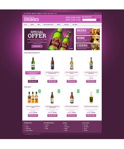 OpenCart e-shop šablona na téma Jídlo a pití č. 51285