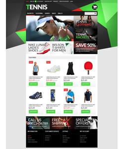 OpenCart e-shop šablona na téma Sport č. 51286