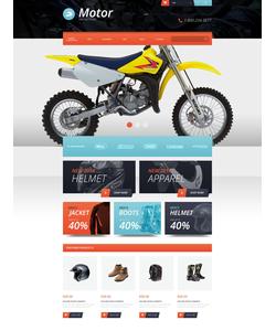 OpenCart e-shop šablona na téma Auta č. 52156