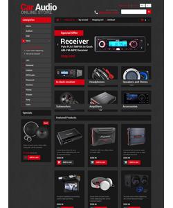 OpenCart e-shop šablona na téma Auta č. 52183