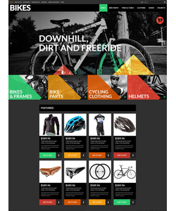 OpenCart e-shop šablona na téma Auta č. 52242