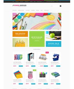 OpenCart e-shop šablona na téma Podnikání č. 52325