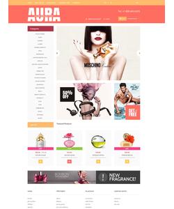 OpenCart e-shop šablona na téma Krása č. 52679