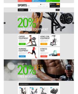 OpenCart e-shop šablona na téma Sport č. 52684