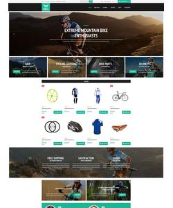 OpenCart e-shop šablona na téma Sport č. 52755