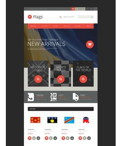OpenCart e-shop šablona na téma Politika č. 52925