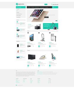 OpenCart e-shop šablona na téma Elektronika č. 52995