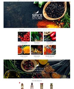 OpenCart e-shop šablona na téma Jídlo a pití č. 53040