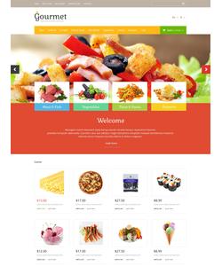 OpenCart e-shop šablona na téma Jídlo a pití č. 53122