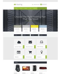 OpenCart e-shop šablona na téma Hosting č. 53161
