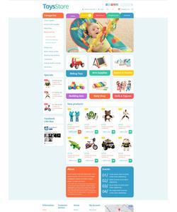OpenCart e-shop šablona na téma Zábava č. 53166
