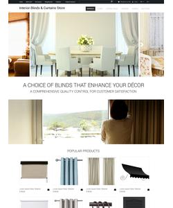 OpenCart e-shop šablona na téma Interiér a nábytek č. 53256
