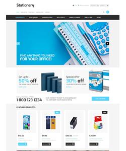 OpenCart e-shop šablona na téma Podnikání č. 53339