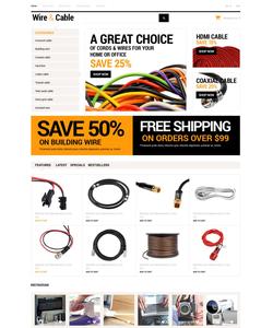 OpenCart e-shop šablona na téma Elektronika č. 53404
