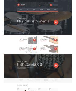 OpenCart e-shop šablona na téma Elektronika č. 53661