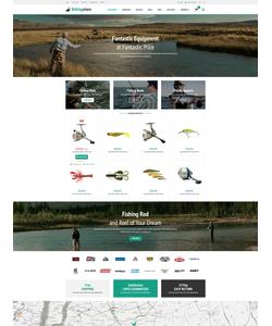 OpenCart e-shop šablona na téma Sport č. 53662