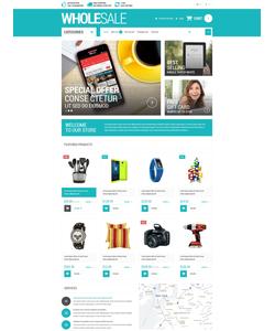 OpenCart e-shop šablona na téma Podnikání č. 53684