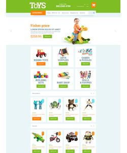 OpenCart e-shop šablona na téma Zábava č. 53743