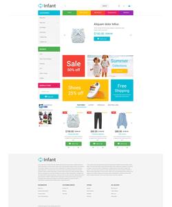 OpenCart e-shop šablona na téma Rodina č. 53774
