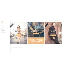 OpenCart e-shop šablona na téma Móda č. 53800