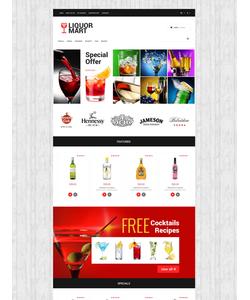 OpenCart e-shop šablona na téma Jídlo a pití č. 53816