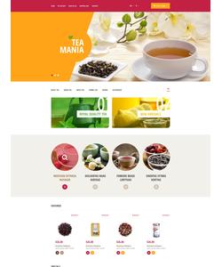 OpenCart e-shop šablona na téma Jídlo a pití č. 53914