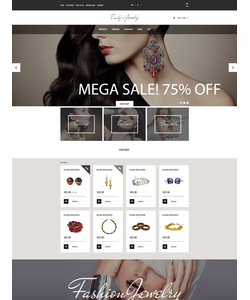 OpenCart e-shop šablona na téma Šperky č. 53968